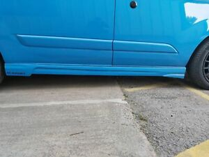 FORD TRANSIT CUSTOM  2013-20 SIDE SKIRTS MSTYLE  LOOK SWB