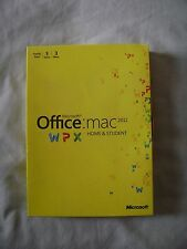 Microsoft Office: Mac 2011 Family Pack -See Description-