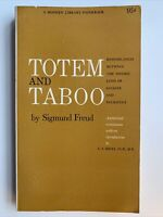 Totem and Taboo by Sigmund Freud, 1946, 1st Printing, Resemblances Between Psych