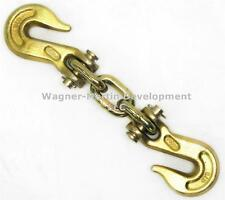 Body Frame Machine Double Grab Hook Assembly Electro-Galvanized Gold Finish