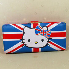 HelloKitty Hasp  Wallet Purse 2017 New Cute Pu Bow Multi-color  Long  Size