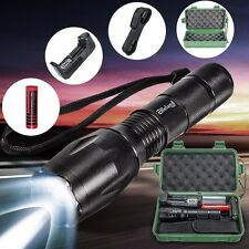 Elfeland 5000LM T6 LED Linterna Antorcha Luz Zoom Flashlight+18650+Cargador+Caja