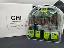 Avon Chi Essentials Travel Kit Shampoo-Condition-Serum-T hermal Spray 2 Oz Each