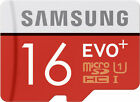 Samsung 16GB EVO+ Plus 16GB micro SD SDHC Card (class 10) - MB-MC16D