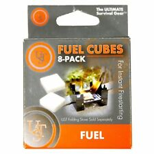 Ultimate Survival Technologies Fuel Cubes 8-Pack Solid Tablets for Folding Stove