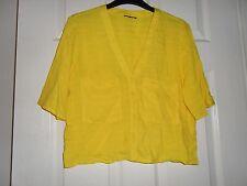 Ladies BNWOT Topshop Short Sleeve Shirt Top Size 6 (BC)