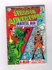 STRANGE ADVENTURES #190 Silver Age DC! 1st ANIMAL MAN in costume! Grade 5.0