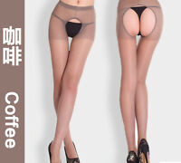 HOT Women Sexy Open Crotch Crotchless Sheer Pantyhose Socks Stockings Tights