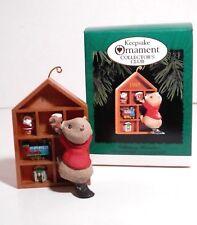 Hallmark Keepsake Collectors Club Ornament Collecting Memories, Qxc4117, 1995