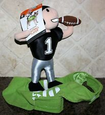 Halloween DOG Pet COSTUME FOOTBALL PLAYER RIDER S M Up To 50 Pounds NEW Raiders?