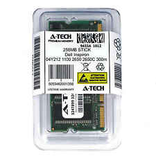 256MB SODIMM Dell Inspiron 04Y212 1100 2650 2650C 300m 4150 500M Ram Memory