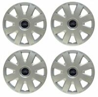 New Genuine Set of 4 Ford FOCUS MK2 MONDEO MK3 Deluxe Wheel trims 16""