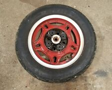 1982 Honda CB750 Custom CB750C rear wheel rim 16 in comstar hub