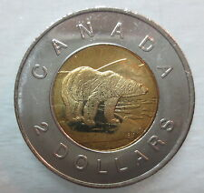 1996 CANADA TOONIE BRILLIANT UNCIRCULATED TWO DOLLAR COIN