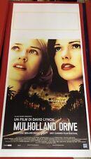 locandina Mulholland Drive 33x70 ristampa digitale in tiratura limitata