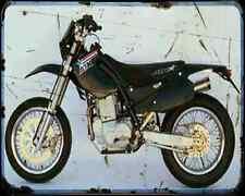 Atk 600 Dirt Track Motard A4 Photo Print Motorbike Vintage Aged