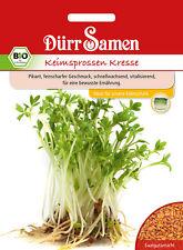 4072 Dürr BIO Keimsprossen Kresse ca.80g Pikant feinscharfer Geschmack Samen