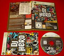 DJ HERO 1 XBOX 360 Versione PAL 1ª Edizione ○ COMPLETO - FG