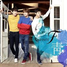 INFINITE F-[靑] 1st Single Album CD+2p Photo Card K-POP L Sung-Jong Sung-yeol