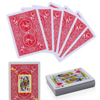 Secret Marked Poker Paper Cards See Through Playing Cards Magic Toys Trick Props