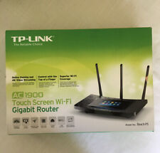 TP-Link AC1900 Wireless Wi-Fi Gigabit Router with Touch Screen - Model: Touch P5