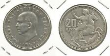 GRECIA - 20 Dracme 1960 argento (1)