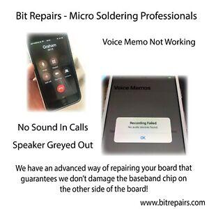 iPhone 7 Audio IC Repair Service With Jumper - Next Day Turnaround - Platinum