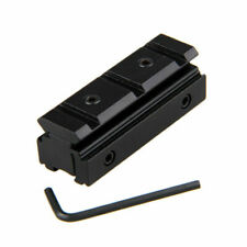 Tactical 11mm to 20mm Mount Base Picatinny Weaver Scope Dovetail Rail Adapter