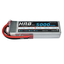 HRB 5000mAh 14.8V 4S Lipo Battery 50C 100C Deans For Quadcopter Airplane Drone
