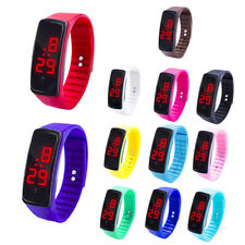 Child Kids LED Digital Display Bracelet Watch Students Silica Gel Sports Watch
