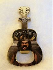 HARD ROCK CAFE STOCKHOLM VIKING BOTTLE OPENER GUITAR MAGNET