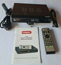 Labgear FV300 Digital Freeview box-Universal with Remote Control & Scart Cable
