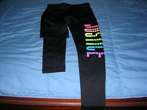 Girls Justice Rainbow Leggings size 10 NWT