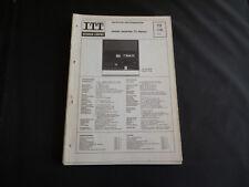 Original Service Manual  ITT  Schaub-Lorenz Studio Recorder 72 Stereo