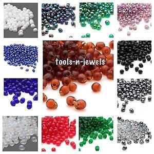 Miyuki  Beads Teardrop Seed Glass Fringe Beads Drops 4x3.4mm 15 Grams