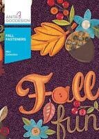 Fall Fasteners Anita Goodesign Embroidery Machine Design CD NEW