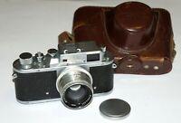 USSR Zorki-3M Rangefinder 35 mm Camera BASED ON LEICA. Jupiter-8 2/50 lens