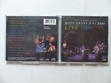 CD Album NITTY GRITTY DIRT BAND Live two five CDP 7 93128 2 Country