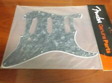 NEW Fender Strat Pickguard, 11-Hole, 4-Ply - BLACK PEARL, 099-2141-000