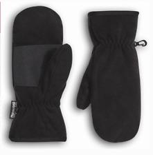 New Women's Thinsulate Black Mittens Winter Gloves Warm