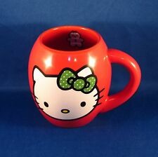 Hello Kitty - Red Ceramic Coffee Mug - 18 oz - Christmas - Holiday - NEW