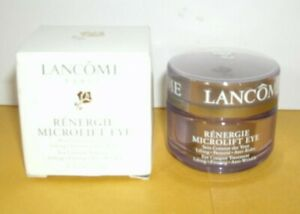 Lancome Renergie Microlift Eye Lifting Firming Anti-wrinkle Cream .5 Oz New