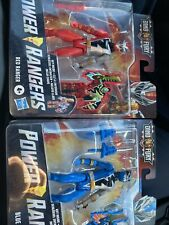 Power Rangers Dino Fury - Red & Blue Rangers 6-Inch Action Figure Set - NEW