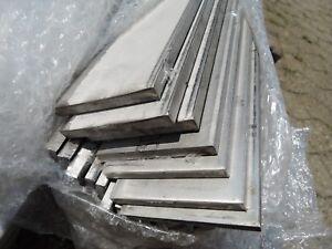 Edelstahl Flachstab roh bis 150cm flach Flachmaterial VA 40x6 - 120x10 Flacheise