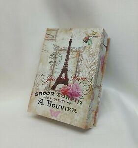 New Keepsake Storage Box Joie De Vivre Eiffel Tower Paris               BP