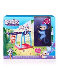 Fingerlings Playset Monkey Bar Playground + Liv the Baby Monkey Hot Toy Gift New