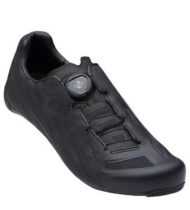 Pearl Izumi Race Road v5 Boa Bike Cycling Shoes Carbon Insert Black Sz 9.5, 41