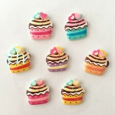Hot 30PCS  mix Resin Lovely Ice cream Flatback  stone Embellishment DIY crafts