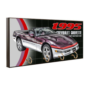 1995 Chevrolet Corvette Indy 500 Pace Car Design Key Hanger / Pet Leash Hanger