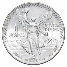 Brilliant Uncirculated 1985 Mexico Libertad Onza 1 Troy Ounce .999 Silver *857
